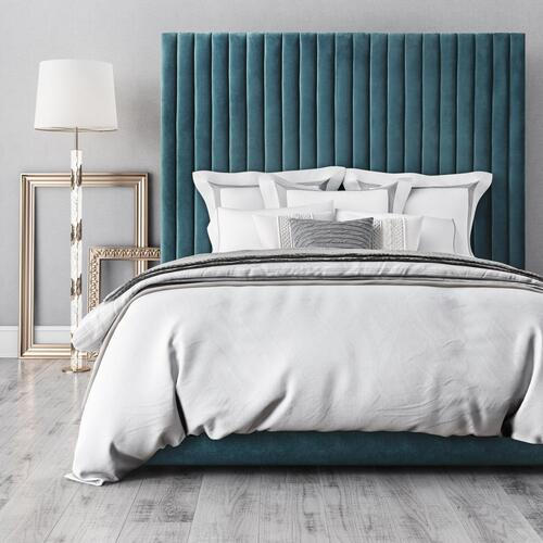 Arabelle Sea Blue Bed in Queen