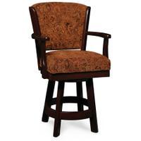 "Venture Swivel Barstool, Arm, 30"" Seat Height Product Image"