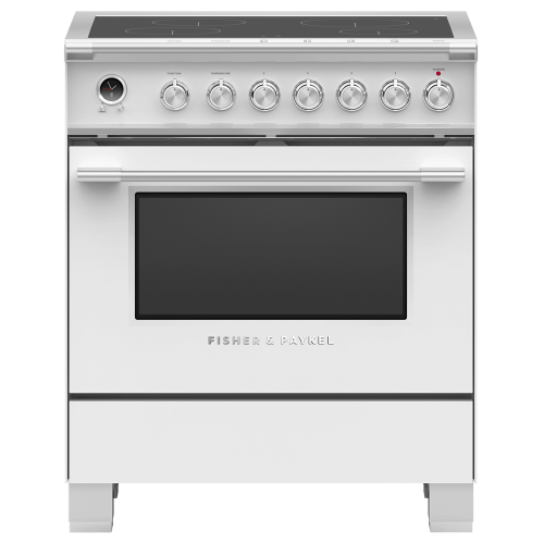 """Gallery - Induction Range, 30"""", 4 Zones, Self-cleaning"""