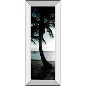 """Classy Art - """"Cool Bimini Palms Il"""" By Susan Bryant Mirror Framed Print Wall Art"""