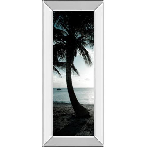 """Cool Bimini Palms Il"" By Susan Bryant Mirror Framed Print Wall Art"