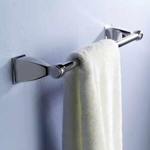 "Quattro 24"" Towel Bar - Satin Nickel"