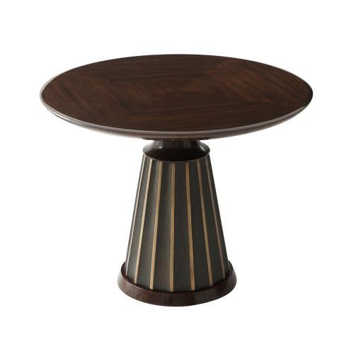 Theodore Alexander - Walnut Hendrix Occasional Table I - Polished Walnut
