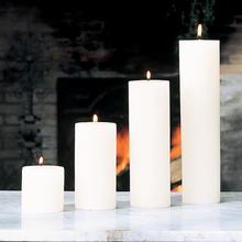 Pillar Candle-Unscented-3 x3