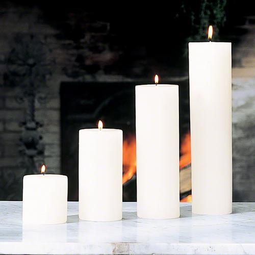 Pillar Candle-Unscented-4 x 8