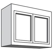"See Details - Variable Bridge Top Unit, 2 Wood Doors, 1 Adjustable Shelf, 12""d, 30""w "" 42""w"