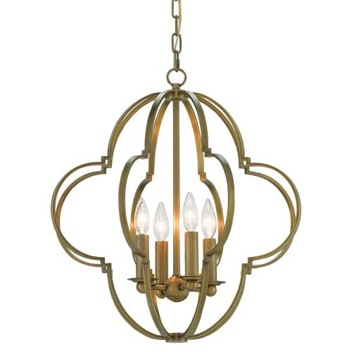 Currey & Company - Sojourn Brass Pendant