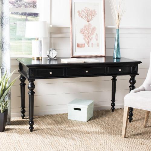 Ronin 3 Drawer Desk - Black