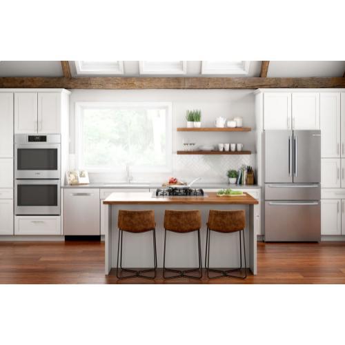 Benchmark® Gas Cooktop 30'' Hard Glass, dark silver NGMP077UC