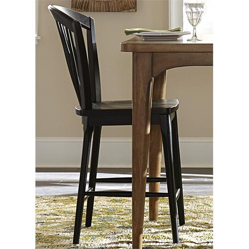 Liberty Furniture Industries - Windsor Counter Chair - Black