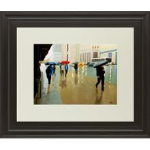 """""""New York State Of Mind"""" By Tate Hamilton Framed Print Wall Art"""