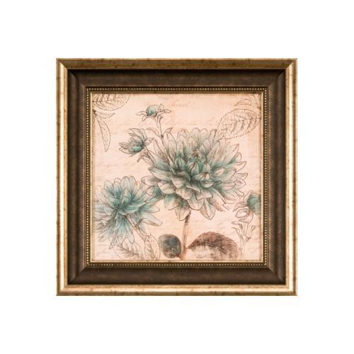 The Ashton Company - Blue Botanical II