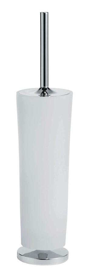 Silaro Free Standing Brush Holder Brushed Nickel Product Image