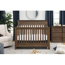 Mocha Foothill 4-in-1 Convertible Crib