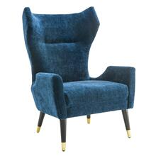 View Product - Logan Navy Velvet Chair