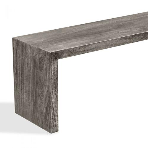 Aspen Bench - Rustic Grey