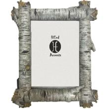 Birch Log Picture Frame, 5x7