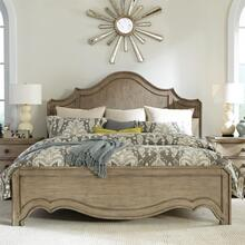 Corinne - King/california King Curved Panel Footboard - Sun-drenched Acacia Finish