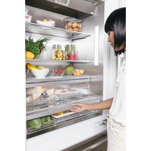 Built-In French Door Bottom Freezer 36'' Masterpiece(r) T36bt915ns