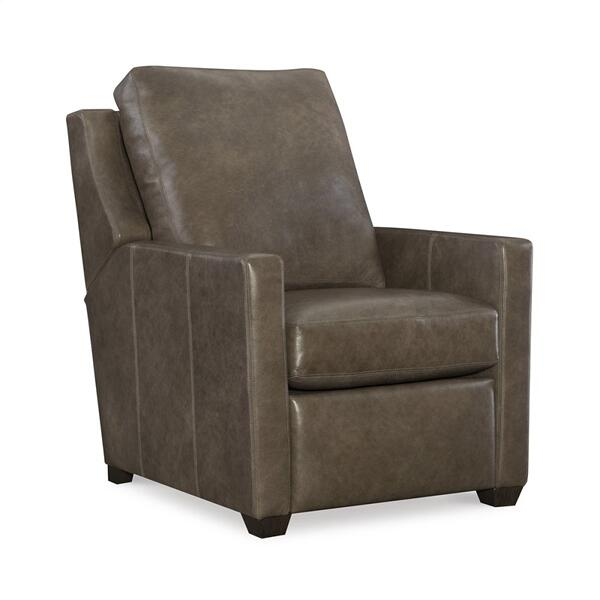 See Details - Leather Manual Recliner