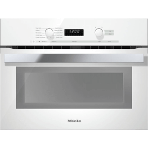 MieleH 6200 BM AM - 24 Inch Speed Oven With electronic clock/timer and combination modes for quick, perfect results.