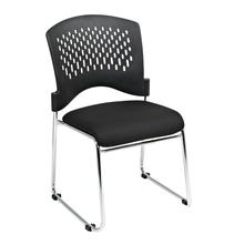 Visitors Chair With Plastic Back