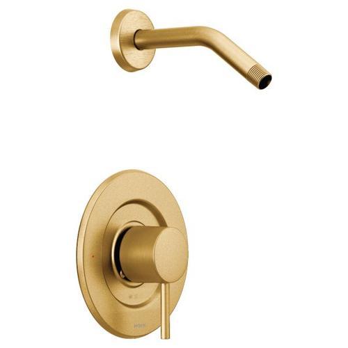 Align brushed gold moentrol® shower only