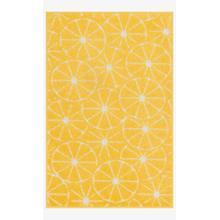 Hti01 Yellow / Ivory Rug