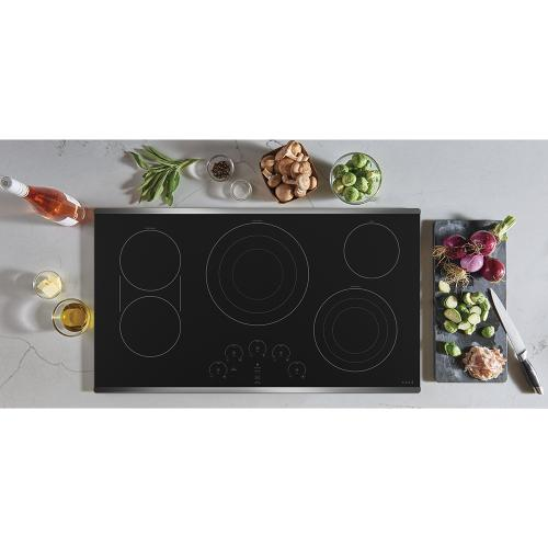 """Café 36"""" Electric Cooktop Stainless Steel"""
