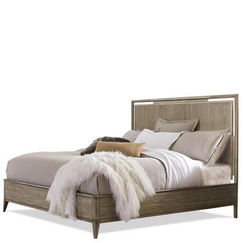 Sophie - Full/queen Upholstered Headboard - Natural Finish