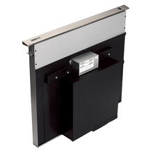 See Details - Broan® 30-Inch Telescopic Downdraft Range Hood, External Blower, Stainless Steel