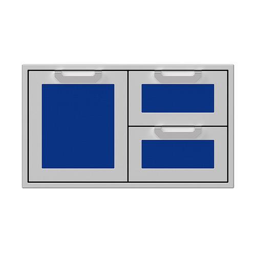 """Hestan - 36"""" Hestan Outdoor Combo Door/Drawer - AGSDR Series - Prince"""