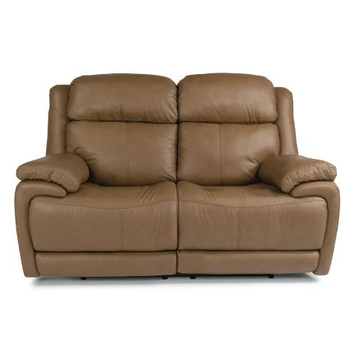 Elijah Power Reclining Loveseat with Power Headrests & Lumbar