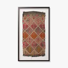 0350820017 Vintage Turkish Rug Wall Art