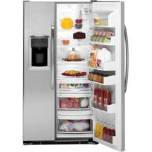 See Details - GE® 22.7 Cu. Ft. Side-By-Side Refrigerator with Dispenser