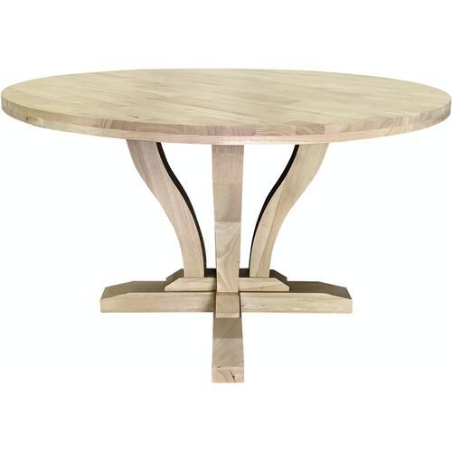 """John Thomas Furniture - 52"""" Round Elle Table"""