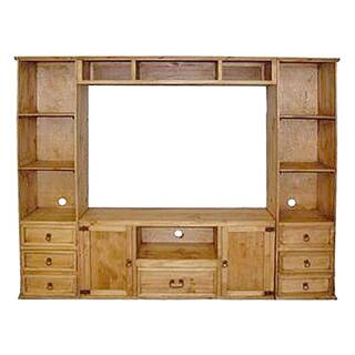 Small Flat Screen 4pc Wall