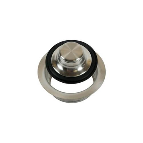 Waste Disposer Trim Collar with Matching Stopper - Polished Gold