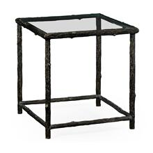 Keswick Antique Bronze End Table