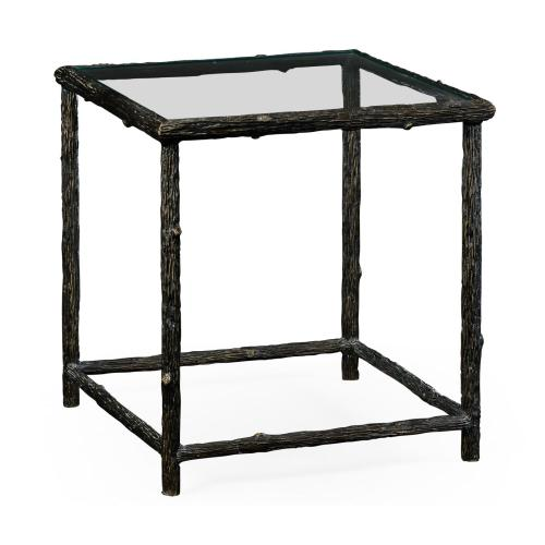 Keswick Antique Bronze End Table