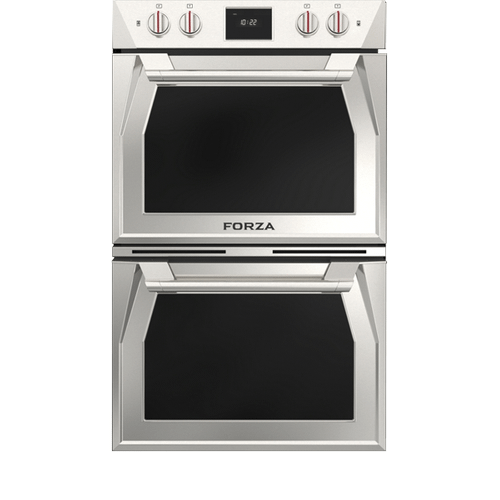 Forzacucina - 30 Inch Double Dual Convection Electric Wall Oven