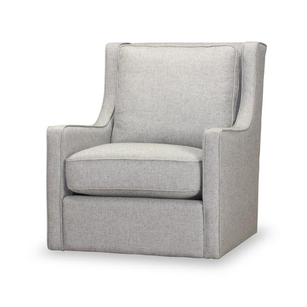 See Details - Calvin Swivel Chair/Felicity Stone