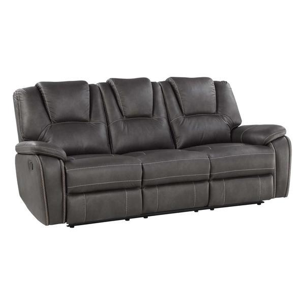 Katrine Manual Motion Sofa, Charcoal