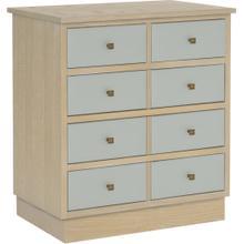 See Details - Claudette Drawer Pier Cabinet