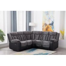 8003 Two-Tone Sectional Sofa