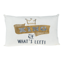 Royal Couple Pillow - Sm. - King of What's Left!