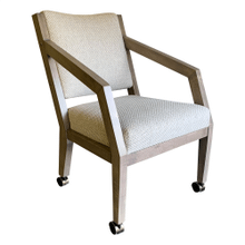 See Details - Angled Caster Chair