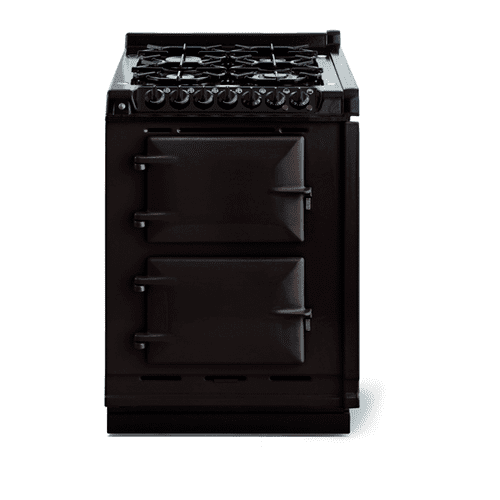 """AGA - AGA Classic 24"""" Dual Fuel Module, Black"""