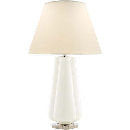 Visual Comfort AH3127WHT-PL Alexa Hampton Penelope 30 inch 60 watt White Porcelain Table Lamp Portable Light