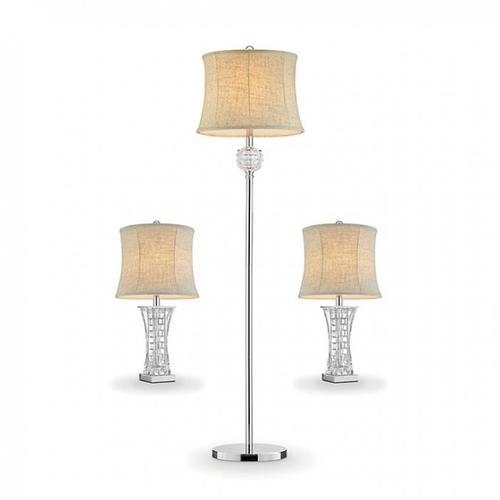 Furniture of America - Antares 3 Pc. Lamp Set
